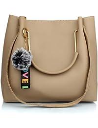 Mammon Women's Handbag (LR-bib-Cream_Cream)