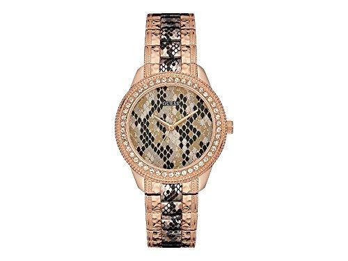 Guess Watches w0624l2Women 's Serpentine Rose Watch (Gold-männer Rose Uhr Guess)