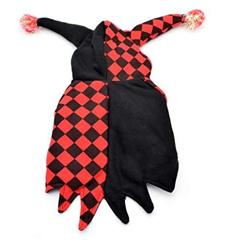 Kostüm Tragen Kasten Hunde - Haustier Herbst Winter Kleidung Halloween Teddy Stereo Clown verwandeltes Kleid zwei Beine zum Tragen von Kleidung Snap Hooded Design Warm Pet Supplies (Size : Xs)