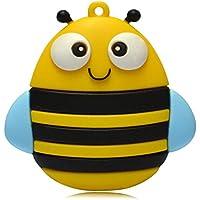 818-Shop No31900080002 USB-Sticks (2 GB) Glückliche Biene Gelb