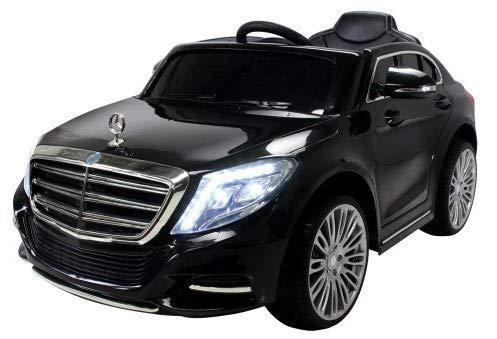Kinder Elektroauto Mercedes S600 Lizenziert EVA Tyres - Dashboard - Ledersitz Kinderauto Elektro Auto Spielzeug für Kinder*