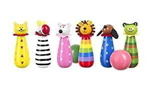 Orange Tree Toys Animal Babar Skittles de Madera,
