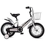 Xiaoping Le Biciclette Pieghevoli for Bambini for Ragazzi e Ragazze Biciclette 3-6-7-8-10 Anni Bambini Biciclette (Color : 3, Size : 18in)