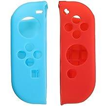 Rishil World Anti-Slip Silicone Protective Case Cover Skin For Nintendo Switch Joy-Con Controller