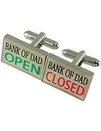 Collegamenti del bracciale Novità Banca di papà denaro gemelli selezionare borsa regalo