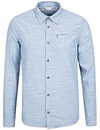Mountain Warehouse T-shirt Homme Manches courtes Matière texturé Coconut