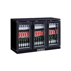 Chr-avenue - arrière bar réfrigéré - 3 portes battantes - 335 l