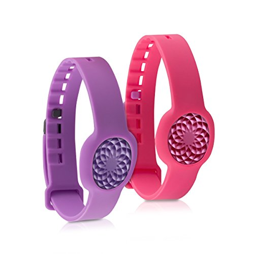kwmobile-2in1-set-2x-sport-spare-bracelet-for-jawbone-up-move-in-dark-pink-violet-inner-dimensions-a