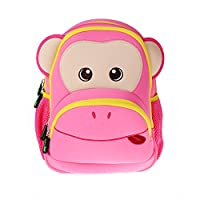 Georgie Porgy Kids Backpack [Cute] Kids Backpacks Girls Boys Toddler Backpacks Best [School] [Hiking] [Travel] Sidekick Bags, Cute Monkey Pack Backpacks