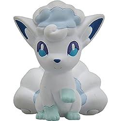 Figura para Jugar, juguetito de los Personajes de Pokemon, de la Serie Sol y Luna, Referencia EMC 22,Nombre del Personaje: Alolan Vulpix, 5 cm, de TakaraTomy