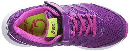 Asics Gel-zaraca 4 Ps, Unisex-Kinder Laufschuhe Violett (grape/silver/pink Glow 3693)