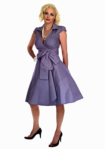 look for the stars Damen Cocktail Kleid Blau Blau 40 Gr. 42, Mauve