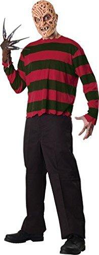Rubie's offizielles Freddy Krueger Kostüm für Erwachsene, Standardgröße
