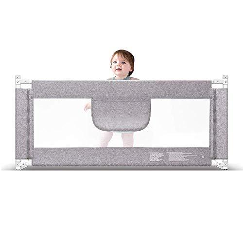 Guardia de cama Barandilla De La Cama Plegable Guardia De Seguridad Transpirable Riel De Barrera Cama Para Niños Bebé Infantil (Size : 180cm)