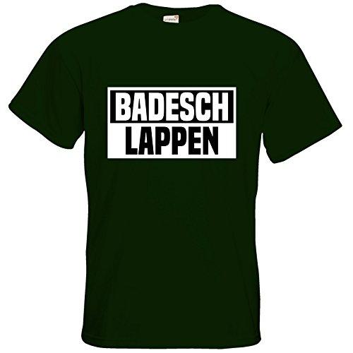getshirts - Badeschlappen Shop - T-Shirt - BADESCHLAPPEN Bottle Green