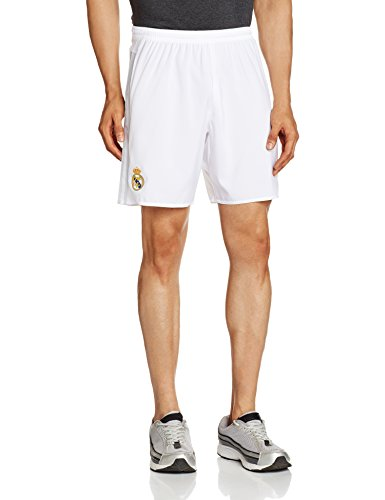 adidas Herren Heimshort Real Madrid Replica, White/Clear Grey, XL