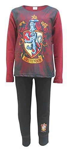 Harry Potter Pyjamas Pijama de una pieza - para mujer Rojo Pj's - Maro