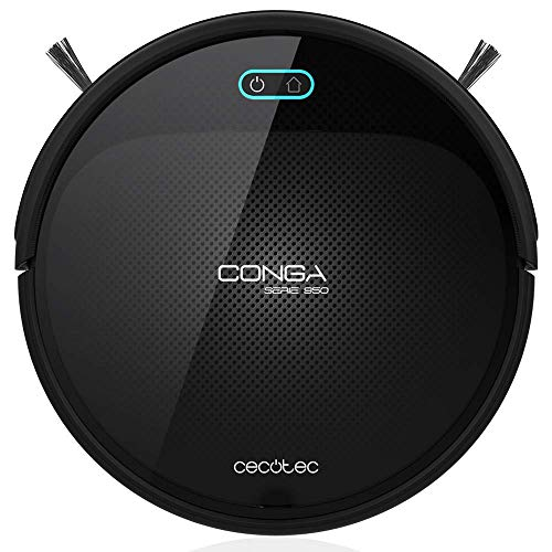 Cecotec Robot Aspirador Conga Serie 950. 1400 Pa, Tecnología iTech Space, Aspira, Barre, Friega y Pasa...
