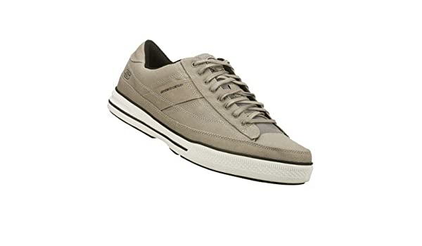 2733c06f2dfd Skechers SK51033 Mens Lace-Up   Mens Shoes (12 UK) (Grey)  Amazon.co.uk   Shoes   Bags