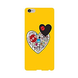 Skintice Designer Back Cover with direct 3D sublimation printing for Apple iPhone 6 Plus
