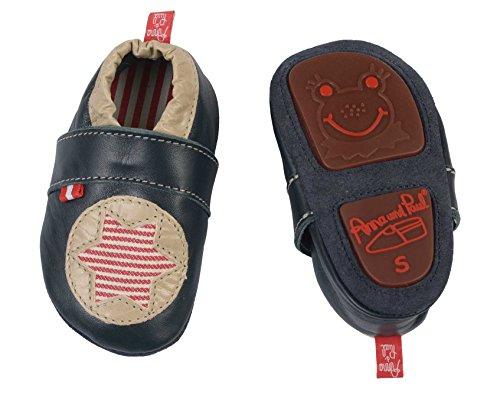Anna & paul anna & paul, chaussures premiers pas d'étoile» - - Gris, M - 13.3 cm - 12-16 Monate EU