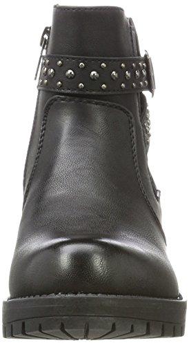 XTI Damen 047429 Chelsea Boots Schwarz (Black)