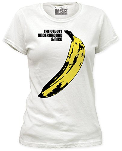 Banana Juniors T-shirt (Stab & wound Velvet Underground Banana Juniors T-shirt)
