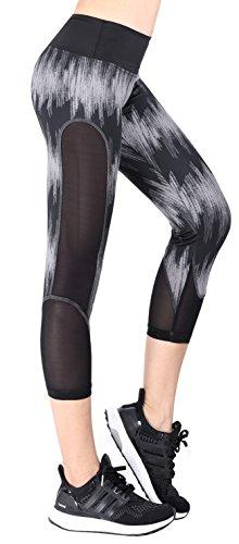 50aa0363a24dc Neonysweets Womens Printed Yoga Pants Active Workout Leggings ...