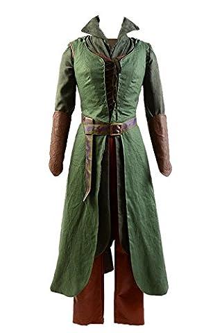 Femme Hobbit Costume - Jeylu - Robe - Fille - vert