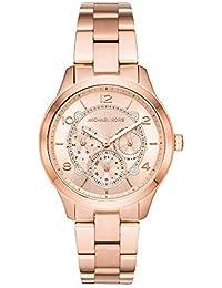 Michael Kors Runway Analog Gold Dial Women's Watch - MK6589