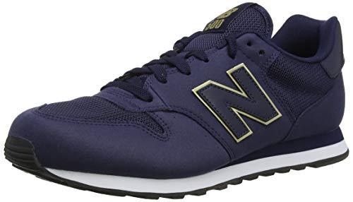 New Balance Gw500v1, Zapatillas de Deporte para Mujer, Azul (Navy/Gold Ngn), 36...
