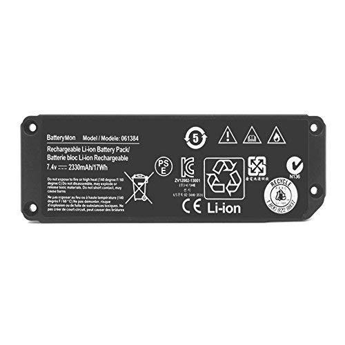 ANTIEE 061384 Speaker akku für Bose Soundlink Mini Bluetooth Wireless Speaker (I One Model) 061386 063404 063287 061385 Series Haut-Parleur sans Fil Battery (7.4V 2230mAh 17Wh)