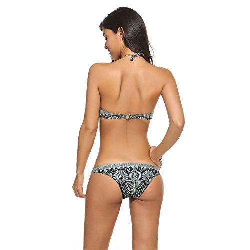 Bluetime Damen Bikini-Set Grau