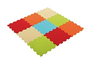 ludi 1009 tappeto gioco puzzle monocolore. Black Bedroom Furniture Sets. Home Design Ideas