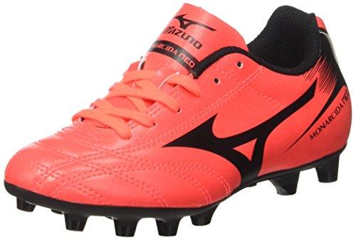 Mizuno  Monarcida Neo Md Jnr, Chaussures de Football Entrainement Unisexe - enfant Multicolore (FieryCoral/Black)