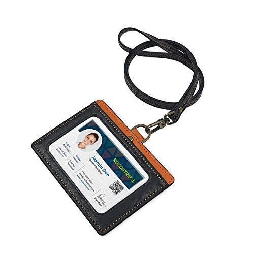 1 Ausweis-yoyo Schwarz Rot Gelb Transparent Blau Mit Pvc-ausweishülle Ihrer Wahl Präsentations-zubehör