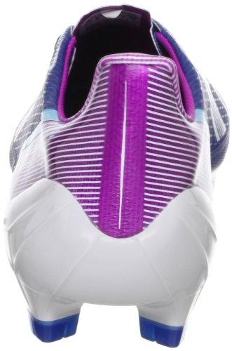 adidas Performance, Scarpe da calcio uomo blu / bianco / viola 44.6EU/ 28.5cm, (blu / bianco / viola), 6,5 UK - 40,0 EU (blu / bianco / viola)