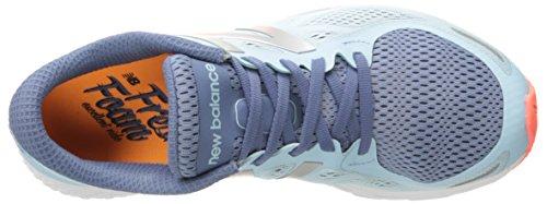 New Balance Women's Fresh Foam Zantev2 Running Shoe Blue/Orange