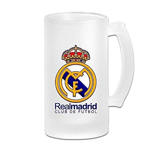 AGOGO Real Madrid Club de Futbol Personalized Beer Mug / Breakfast Cups