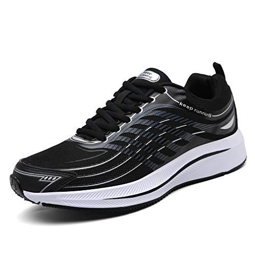 SOLLOMENSI Walking Zapatillas para Hombre Deporte y Aire Libre Calzados para Correr Running Deportivo Deportivas Zapatos Zapatillas Casual