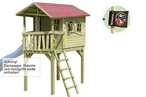 Stelzenhaus Justin-Fun (optional mit Rutsche) von Gartenpirat®