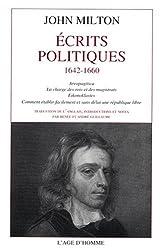 Sur la révolution anglaise : Ecrits et prose politique, 1642-1649