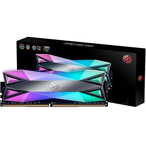 MEM ADATA XPG SPECTRIX D60G Dual RGB 8B 3000MHz módulo de Memoria