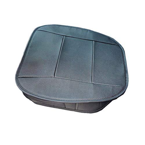 Steellwingsf Universalwagen mit Einem Sattel-Anti-Rutsch-Faux-Ledermatte atmungsaktive Kissenabdeckung-schwarz -