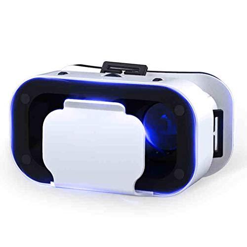Equipo de películas de la Familia de Auriculares de la Consola de Juegos del teléfono Inteligente 3D de Realidad Virtual 3D (con: Gafas VR + Mango de Gloria + Auriculares de Moda + Pistola AR)