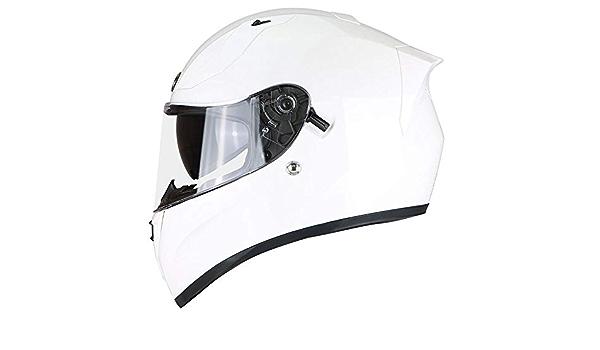 Danran Motorradhelm Herren Großen Helm 4xl Vollhelm 65cm Vier Jahreszeiten Universal Sonnenschirm Kalthelm Weiß M Küche Haushalt