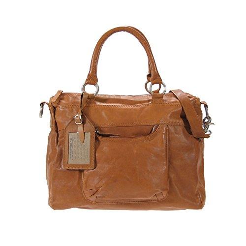Cowboysbag , Sac à main pour femme Marron - Cognac (Braun)