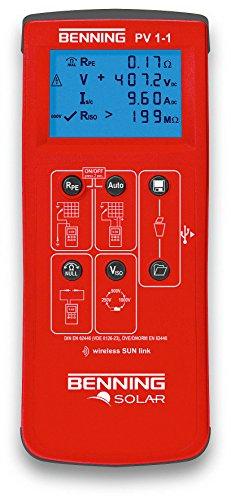 Benning PV 1-1 PV - Installationstester, 050421