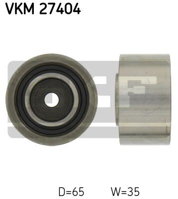 Preisvergleich Produktbild SKF VKM 27404 Umlenk- / Führungsrolle,  Zahnriemen