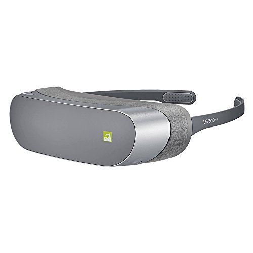 LG 360 VR HEADSET (R-100) TITAL SILVER FOR LG G5 Mobile Phone Bluetooth Headsets at amazon